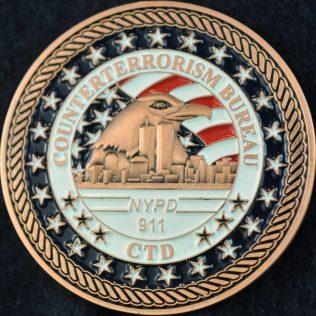 US NYPD Counterterrorism Bureau