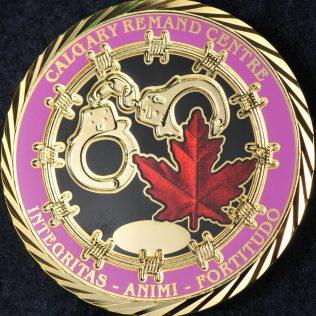 Alberta Correctional Services Calgary Remand Centre Pink