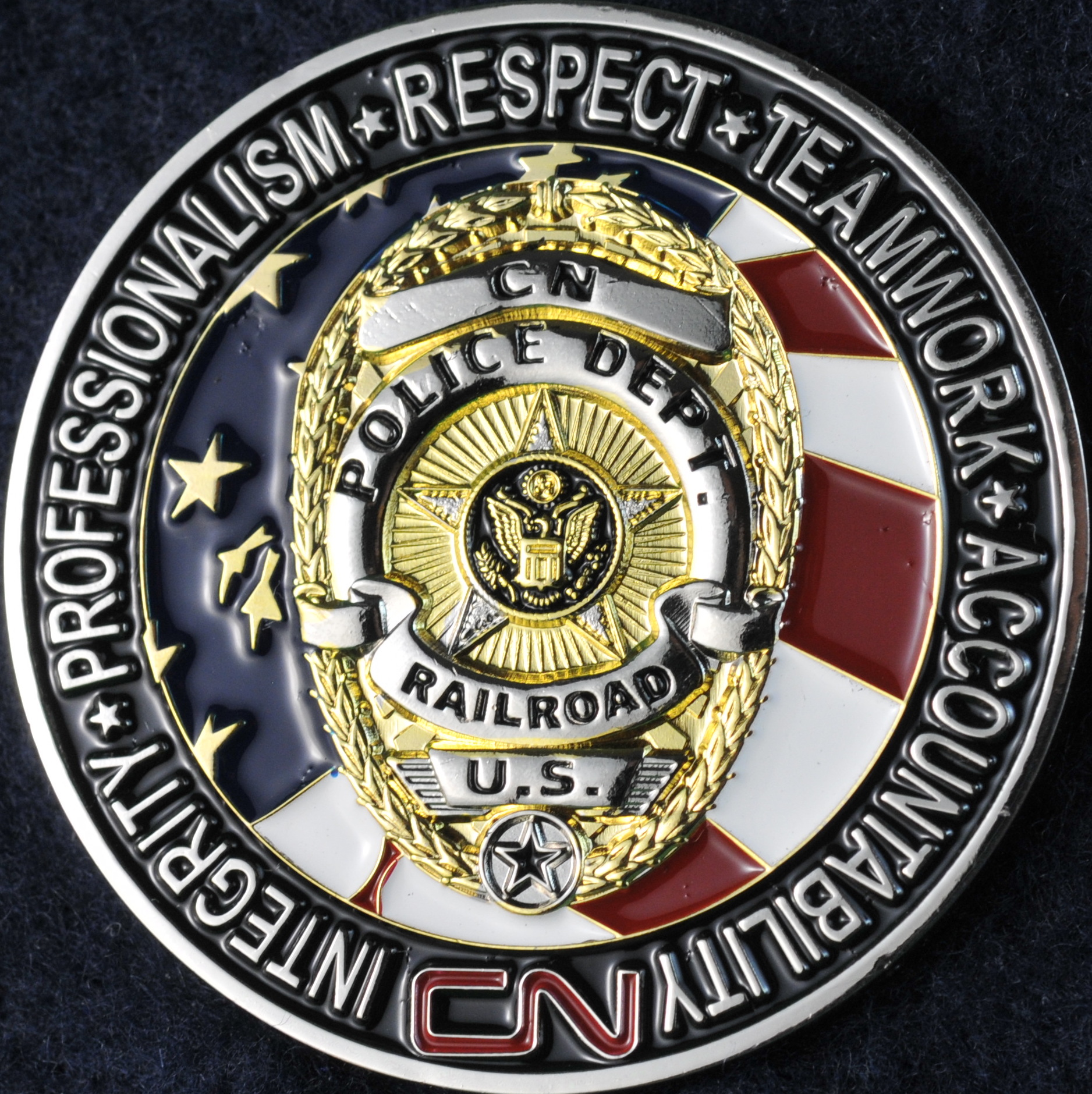 Canadian National Police Service new - Challengecoins.ca