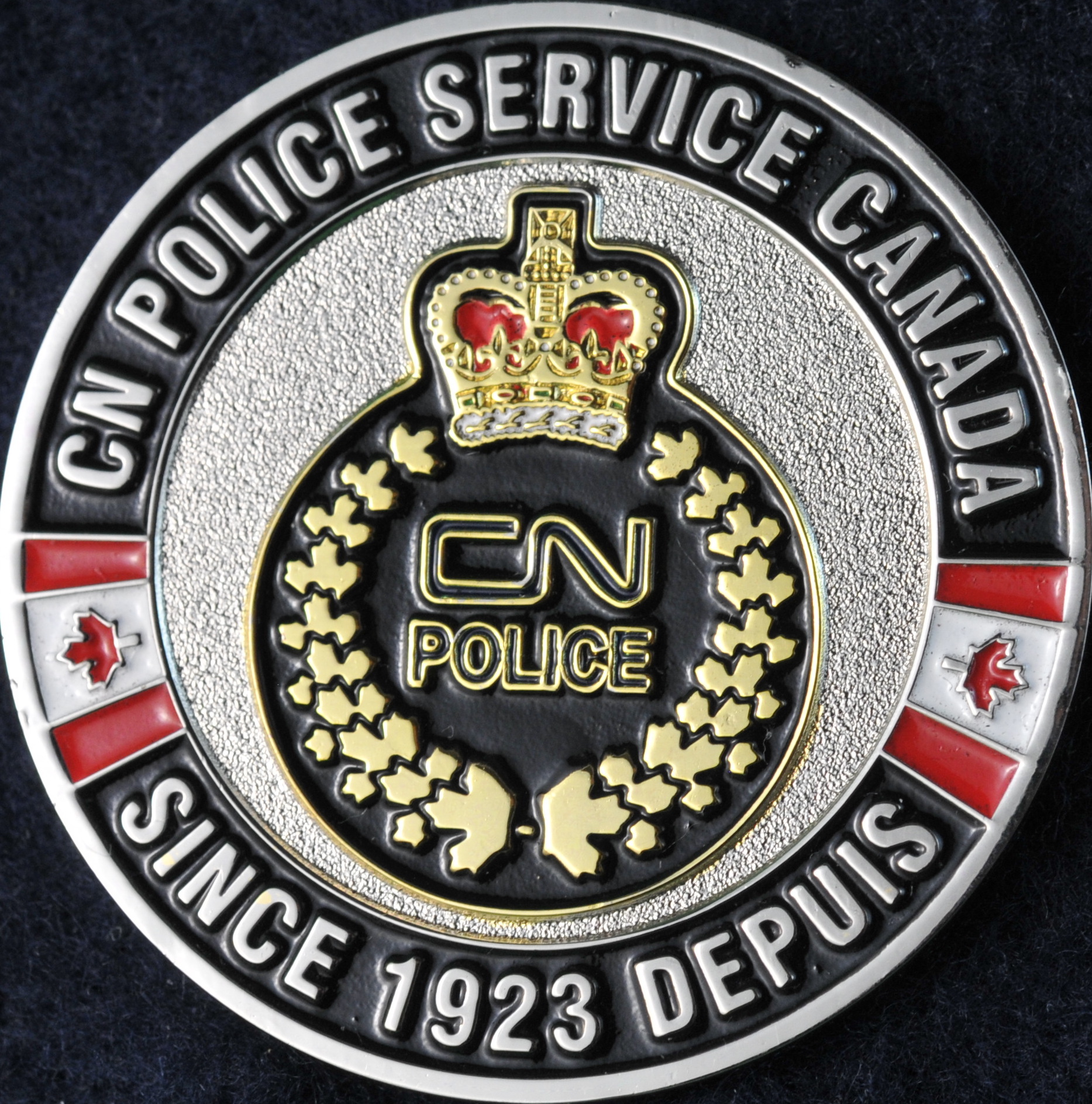 Canadian National Police Service - new - Challengecoins.ca