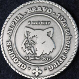 Ecole nationale de police du Quebec cohorte 182