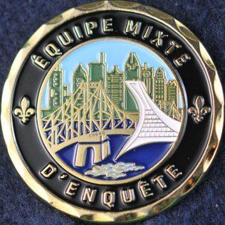 Sûreté du Québec - Équipe Mixte d'enquête