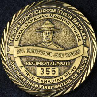 RCMP Cst Christopher WORDEN