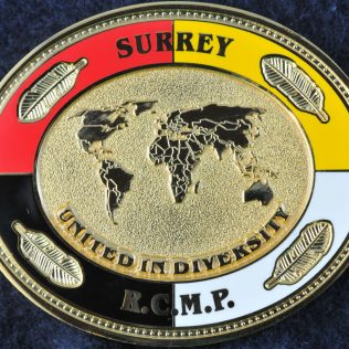 RCMP E Division Surrey Detachment United in Diversity
