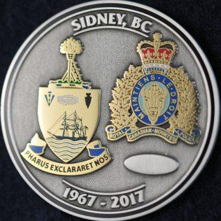 RCMP E Division Sydney BC 1967 - 2017