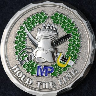 RCMP Tactical Troop Silver and Green