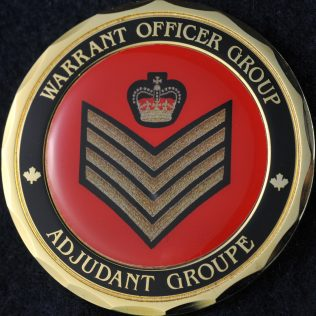 RCMP Warrant Officer Group Sergeant Major