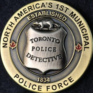Toronto Police Service Established 1834