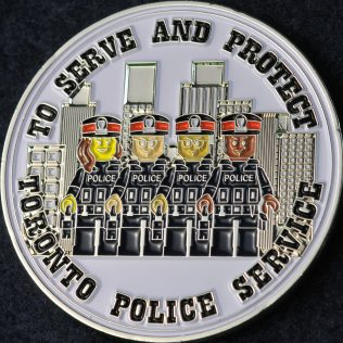 Toronto Police Service Lego Cop