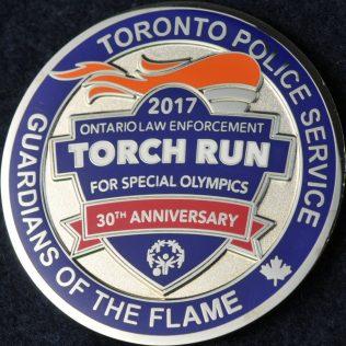 Toronto Police Service Torch Run 2017
