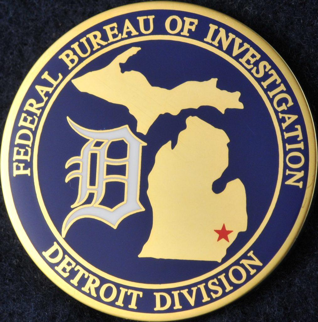 US Federal Bureau of Investigation Detroit Division ...