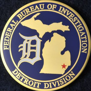 US Federal Bureau of Investigation Detroit Division