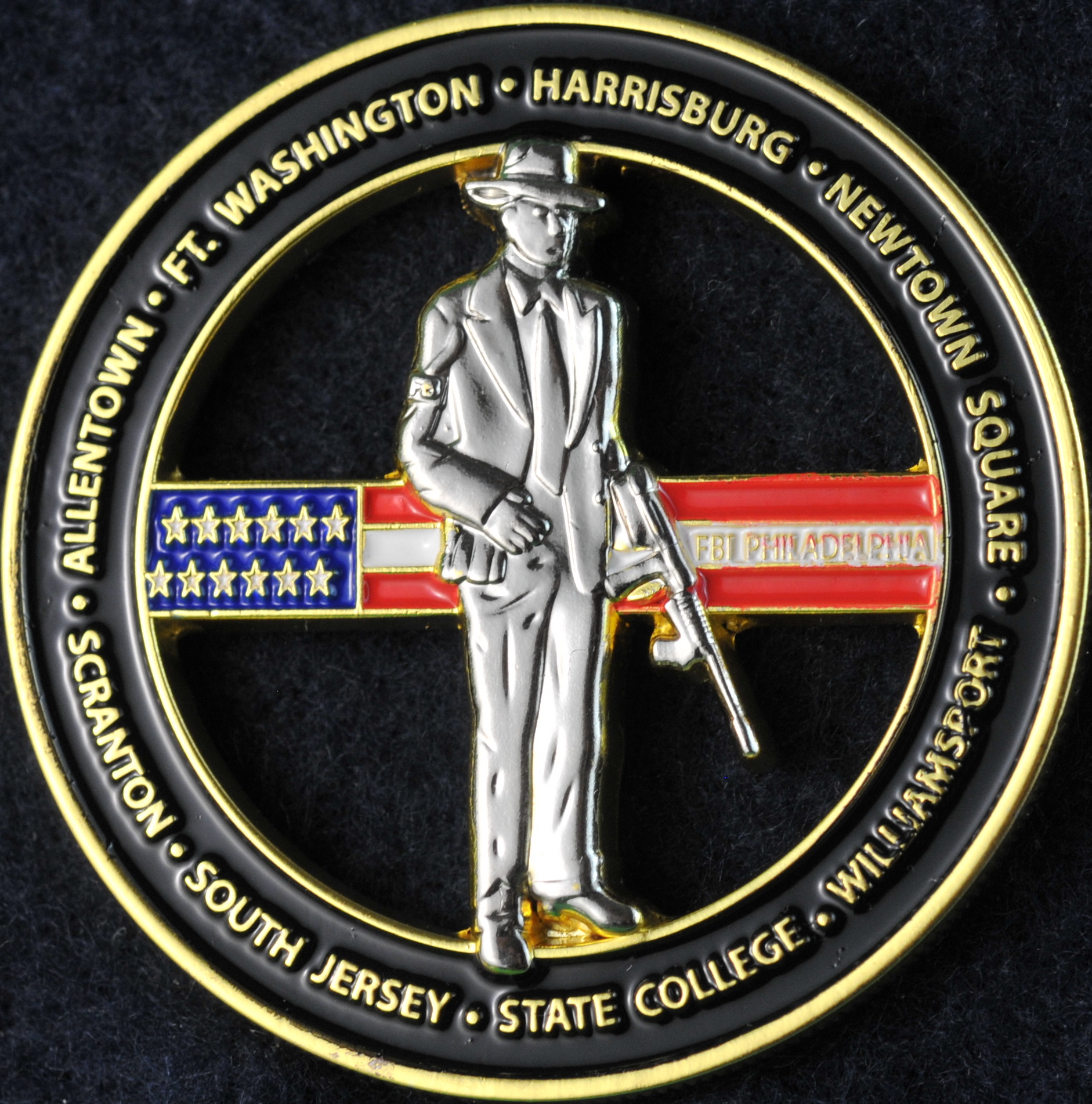 US Federal Bureau of Investigation Philadelphia ...