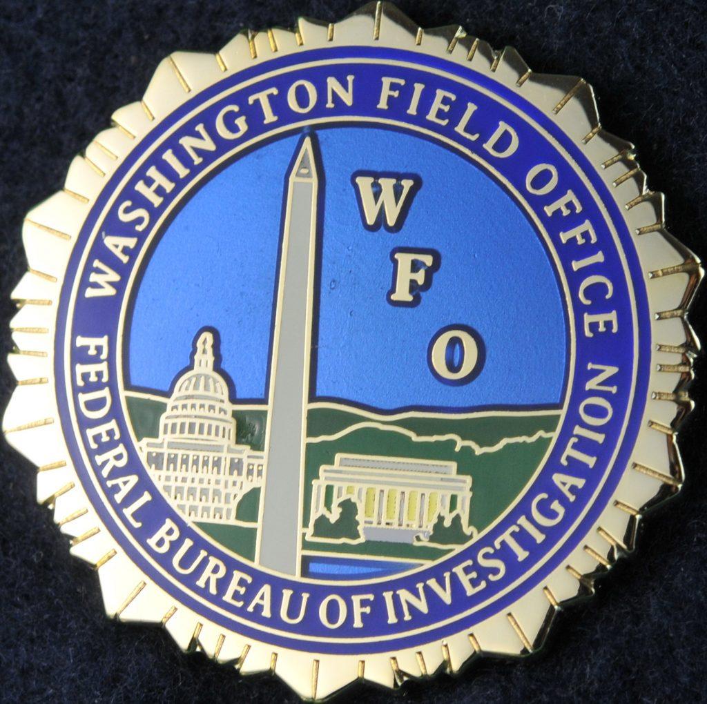 US Federal Bureau of Investigation Washington Field Office ...