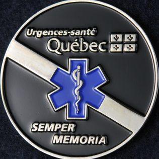 Urgences-Santé Honour Guard