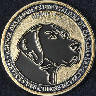 Canada Border Services Agency CBSA Detector Dog Service
