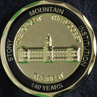 Correctional Service Canada Stony Mountain Institution 140 years