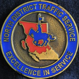 RCMP E Division - North District Traffic Service