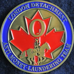 RCMP London Detachment - Anti Money-Laundering Team