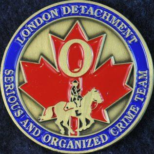RCMP O Division London Detachment - Serious and Organized Crime Team