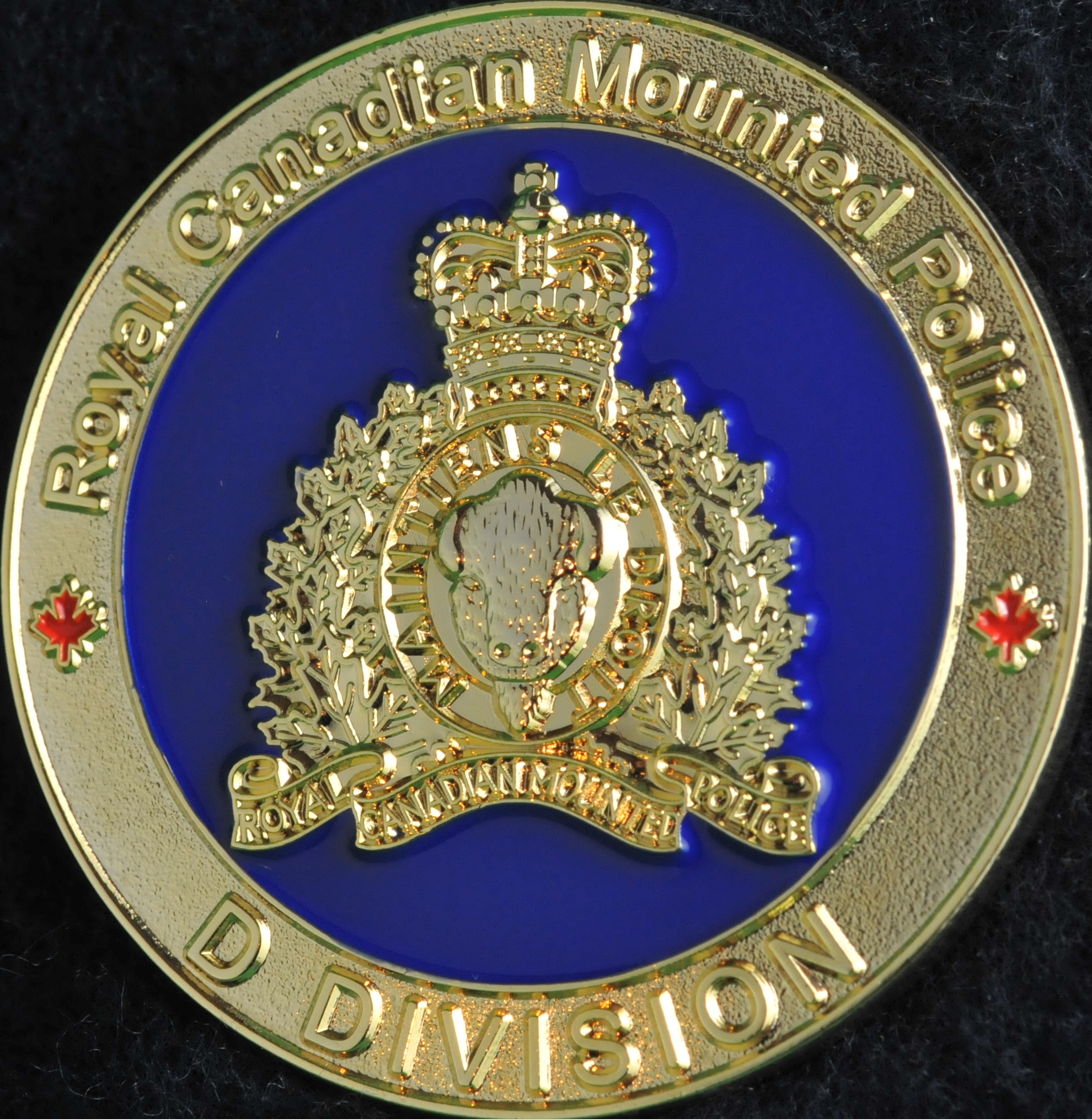 Rcmp D Division Manitoba Fis New Gold Challengecoins Ca