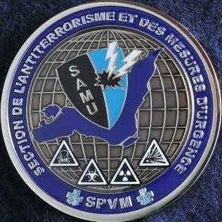 SPVM Section de l'antiterrorisme et des mesures d'urgence