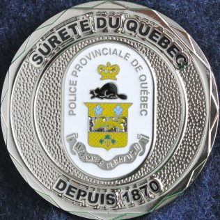 Sûreté du Québec - Police Provinciale de Québec Depuis 1870