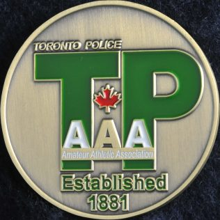 Toronto Police Amateur Athletic Association TPAAA Est.1881