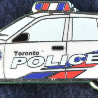 Toronto Police Service Car with NYPD