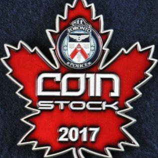 Toronto Police Service Coin Stock 2017