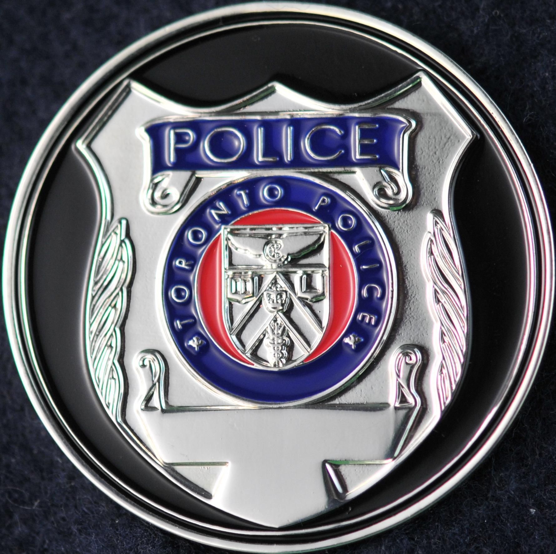 Toronto Police Service Detective Challengecoins Ca