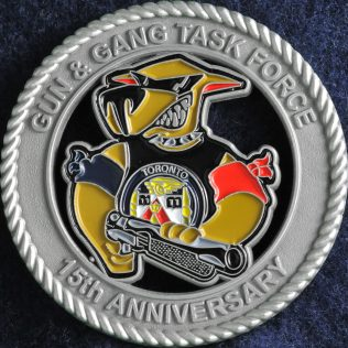 Toronto Police Service Gun and Gang Task Force 15th Anniversary
