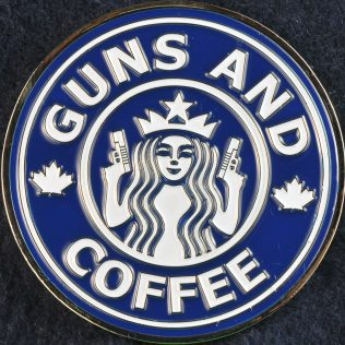 Toronto Police Service Guns and Coffee Blue