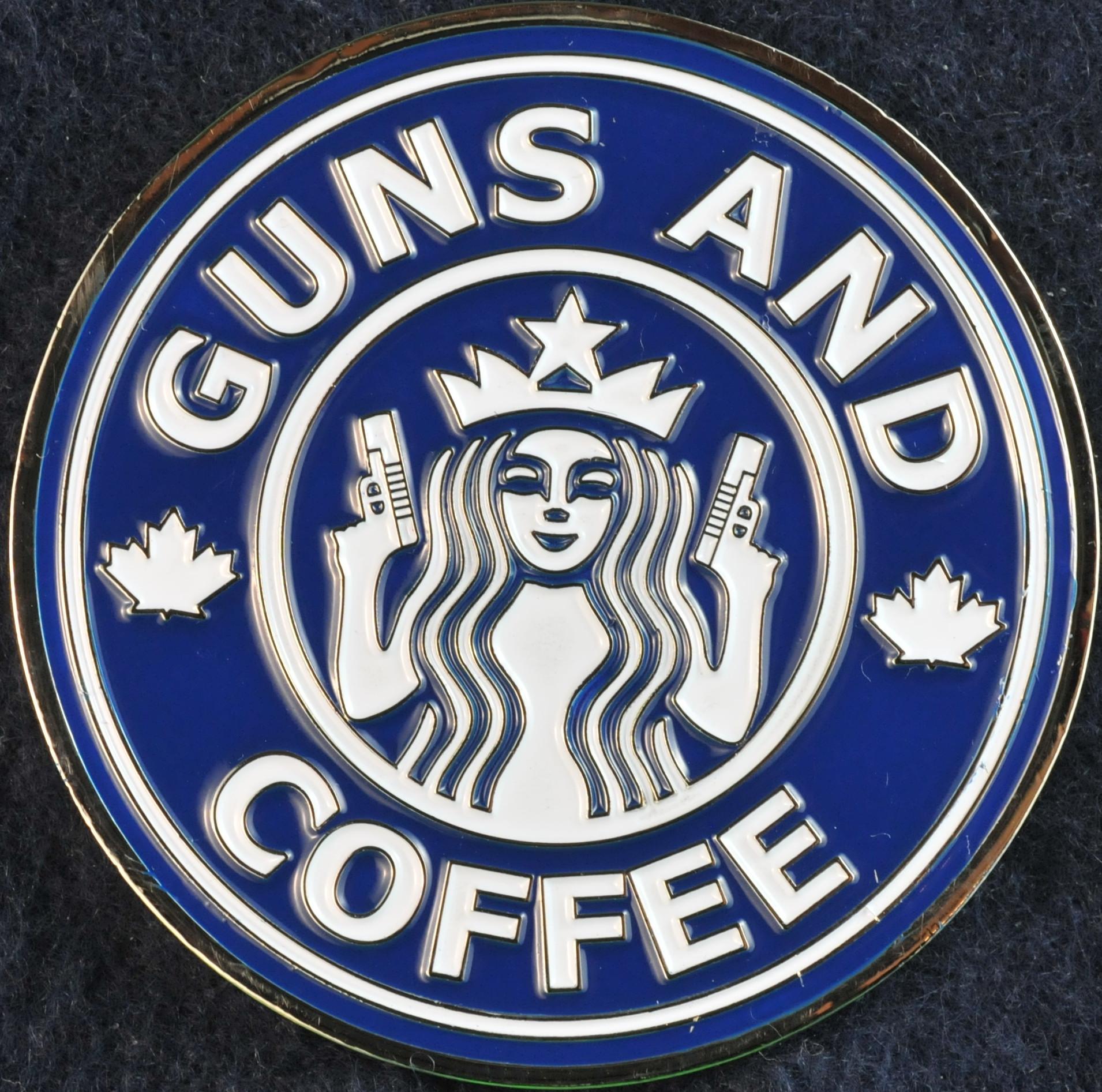 Toronto Police Service Guns And Coffee Blue