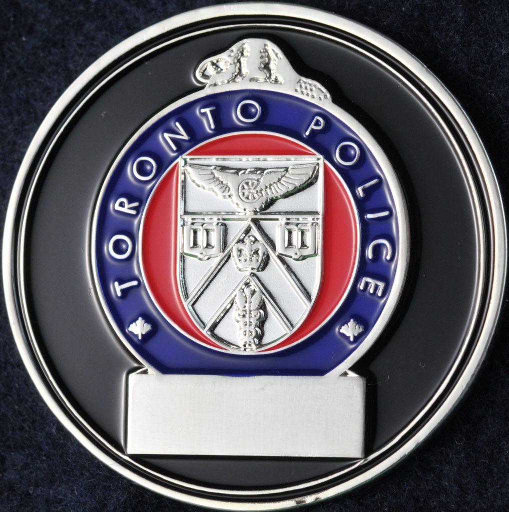 Toronto Police Service Silver | Challengecoins ca