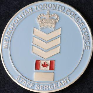 Toronto Police Service Staff Sergeant Rank