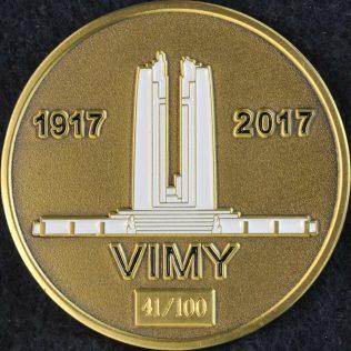 Toronto Police Service War Veterans Vimy 1917 - 2017