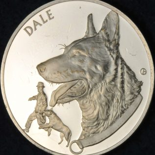 RCMP Centennial Canine Division Established Dale