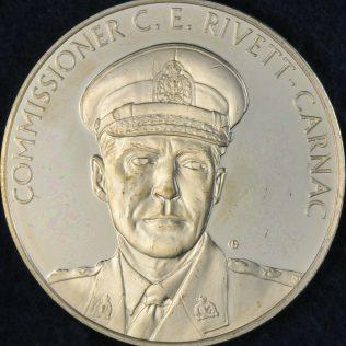 RCMP Centennial Commissioner C E RIVETT-CARNAC