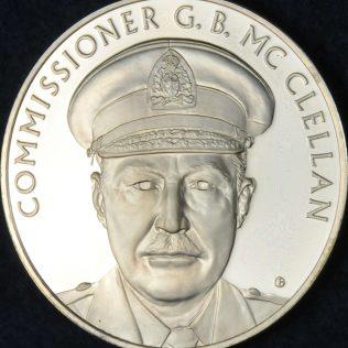 RCMP Centennial Commissioner G B McCLELLAN