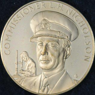 RCMP Centennial Commissioner L H NICHOLSON