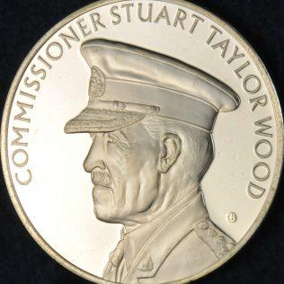 RCMP Centennial Commissioner Stuart Taylor WOOD