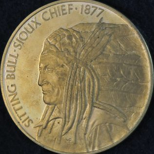 RCMP Centennial Sitting Bull-Sioux Chief 1877