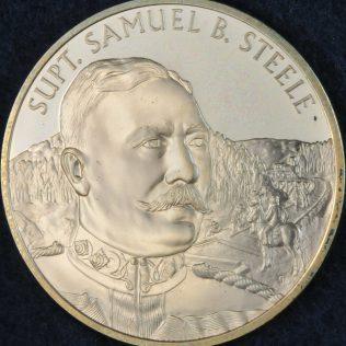 RCMP Centennial Superintendant Samuel B STEELE