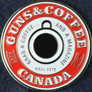 Toronto Police Service Guns and Coffee red