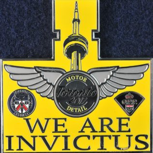 We are Invictus Toronto 2017 Motor Detail