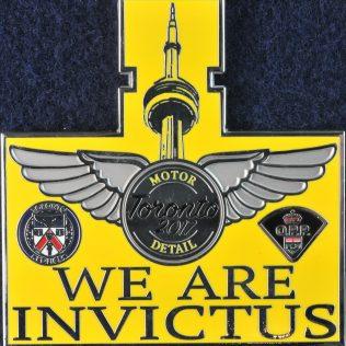 We are Invictus Toronto 2017 Motor Detail