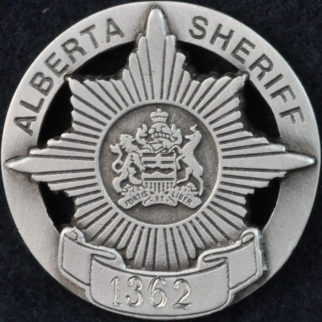 Alberta Sheriff pewter coin | Challengecoins ca