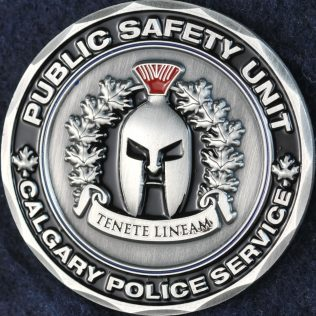 Calgary Police Service Public Safety Unit light blue