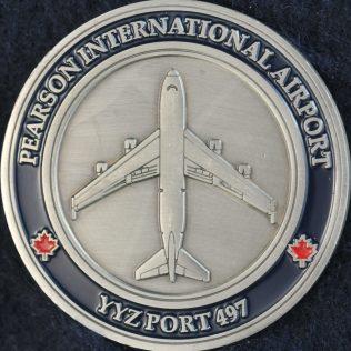 Canada Border Services Agency (CBSA) Pearson International Airport